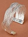 Femme Bracelets Rigides Manchettes Bracelets Original Mode bijoux de fantaisie Tresse Mariee Alliage Forme de Fleur Bijoux Pour Mariage