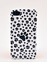 Animal Feet Pattern Hard Case for iPhone 4/4S