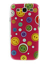 Smiling Faces Pattern Plastic Protective Hard Back Case Cover for Samsung Galaxy S3 I9300