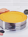 Flexible Round Baking Mold, Metal Diameter 26-30cm Height 9cm