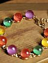 Strand Браслеты Кристалл Уникальный дизайн Мода Бижутерия Радужный Бижутерия 1шт
