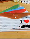 barba de divertidos dibujos animados bolsa archivo de patrones