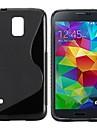 S Shape TPU Fodral till Samsung Galaxy S5 I9600