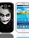 Kasus JOKER Desain Sulit dengan 3-Pack Screen Protektor untuk Samsung Galaxy S3 I9300