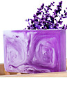 Weizi Handmade Lavender Leite Essential Oil Soap Whitening Anti-Acne 100g