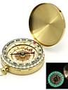 Флип-Open Позолоченные серебристых Карманный компас