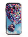 Colorful Balloon Pattern PVC Back Case for Samsung Galaxy Ace 3 S7272