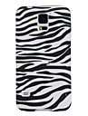For Samsung Galaxy Case Ultra-thin / Pattern Case Back Cover Case Lines / Waves TPU Samsung S5
