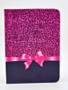 Leopard Bow Pattern Full Body Case with Stand for Samsung Galaxy Tab 3 10.1 P5200