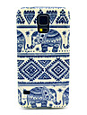 Elephant Carpet Pattern TPU Soft Case Cover for Samsung Galaxy S5 I9600