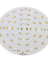 18W LED Ceiling Lights 48 SMD 5730 1500-1700 lm Warm White Decorative AC 100-240 V