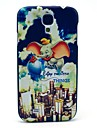 Flying Elephant Plastic Protective Back Cover for Samsung Galaxy S4 I9500