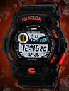Men's Watch Sports LCD Digital Water Resistant Calendar Multi-Function  Cool Watch Unique Watch