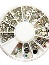 500PCS 6-Size Arcylic Diamond Nail Art Decorations