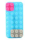 Case Suave para iPhone 5 - Tijolos de Brinquedo (Várias Cores)
