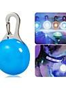 Cat / Dog Collar / LED Safety Light Waterproof / LED Lights White / Blue Plastic