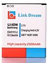 Link-Dream High Qualitaet 3.7V 2300mAh Handy-Akku fuer Samsung Galaxy S3 Mini GT-i8190 I8160 (EB425161LU)