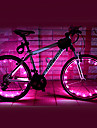 FJQXZ 18 LED 2 modes Light Pink velo Roue - 1 PC