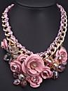 Женское, стильное ожерелье, с кристаллами