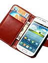 Luxury Wallet Cover with Card Holders and Stand Case for Samsung Galaxy Trend Duos S7562