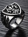 Классические кольца Титановая сталь Бижутерия Любовь Мода Серебряный Бижутерия Свадьба Для вечеринок Повседневные Спорт 1шт