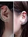 European  (Fan Shape)  Alloy Ear Cuffs(Silver,Gold) (1 Pc)