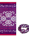 KORAMAN Summe Purple Blessing Thin Anti-UV Sun-proof Cycling Magic Scarf Headband