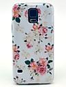 Pour Samsung Galaxy Coque Motif Coque Coque Arriere Coque Fleur Polycarbonate Samsung S5