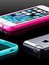 givrees retour TPU cas pare-chocs pour iPhone 5 / 5s (couleurs assorties)