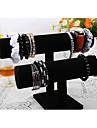 Классический красивый корейский браслет стоять черного дерева байки ювелирные дисплеи (1 шт)