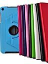 8 polegadas de 360 graus padrão lichee rotação Stand Case para asus memo pad 8 me181c (cores sortidas)