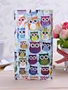 Colorful Owls Pattern TPU Soft Case for Nokia Lumia 1020