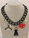 Bijoux Pendentif de collier Mariage / Soiree / Quotidien / Decontracte Alliage Femme Noir Cadeaux de mariage