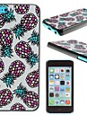 First Design Funny PINEAPPLES Best Printed Pineapple Pattern PC Hard Case for iPhone 5C
