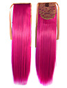 Hot Selling  Peny Tail Hair   Clips  Colour  Colorful  Red   Bar  Wholesale  Hair Extension  Fuchsia  Cute   Sexy