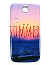 삼성 갤럭시 S4 미니 i9190를위한 여름 해변 패턴 얇은 하드 케이스 커버