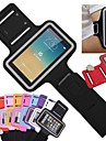 тонкий кожаный PU спортивный повязка с держателем ключа для iPhone 6 (ассорти цветов)