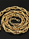 Golden Chain Necklaces / Strands Necklaces Wedding / Party / Daily / Casual / Sports Jewelry