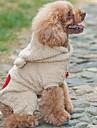 Dog Hoodie / Bandanas & Hats Brown / Gray Dog Clothes Winter Animal