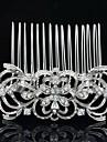8,2 centimetros de joias de noiva lindo pente de cabelo tiara para festa