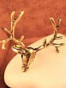 Fashion Deer Head Shape Statement Ring(1 Pc)