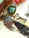 Love Is Your Peacock Feathers Sweater Style Restoring Ancient Ways Leaves Big Hearts Key Chain