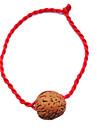 Chine rouge classique de corde rouge Bracelet symbolisent la richesse et noix