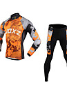 FJQXZ Cycling Clothing Sets/Suits / Arm Warmers Men\'s BikeBreathable / Ultraviolet Resistant / Quick Dry / Front Zipper / Wearable /