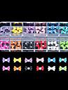 60PCS 12 Colours Little Bowknot Resin Nail Art Decoration