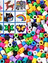 приблизительно 500шт / мешок 5мм смешанный цвет предохранителей шарики Hama шарики DIY головоломки Ева материал Safty для детей (случайный цвет)