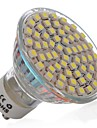 3W GU10 LED-spotlights MR16 60 SMD 3528 270 lm Kallvit AC 110-130 V