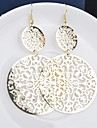 Earring Drop Earrings Jewelry Women Wedding / Party / Daily / Casual Alloy Gold / Black / Silver