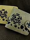 가방 / 지갑 에서 영감을 받다 One Piece 트라팔가 법 에니메이션 코스프레 악세서리 지갑 옐로 / 브라운 가죽 / PU가죽 남성