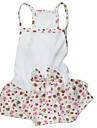 Dog Dresses - XS / S / M / L - Spring/Fall - White - Wedding - Cotton